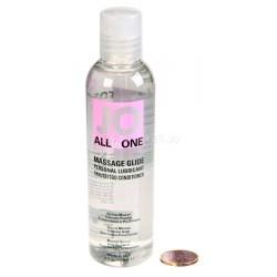 Массажный гель-масло All-in-Оne Strawberry клубничный (120 мл)