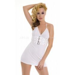 Платье стрейчевое белое ML