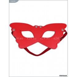 Маска на глаза красная Butterfly на подкладке